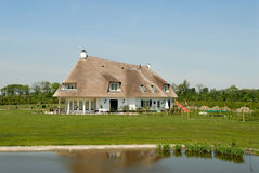 Traditional cottage in the Netherlands Stock Image