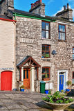 Traditional Cottages In Kendal, Cumbria Stock Photos