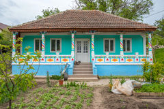 Traditional countryhouse in Moldova Royalty Free Stock Image