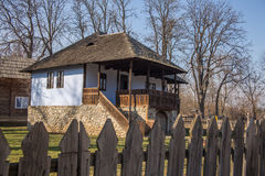Traditional countryside house in rural area Stock Image