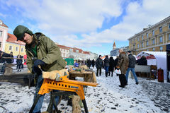 Traditional crafts fair, Vilnius Stock Photo