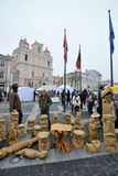 Traditional crafts fair, Vilnius Stock Photos