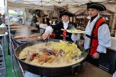 Traditional crafts fair, Vilnius Stock Photo