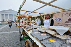 Traditional crafts fair, Vilnius Royalty Free Stock Photography