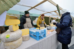 Traditional crafts fair, Vilnius Stock Image