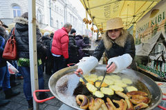 Traditional crafts fair, Vilnius Stock Photos