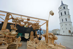 Traditional crafts fair, Vilnius Royalty Free Stock Images