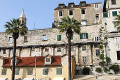 Traditional Croatian architecture in Split Royalty Free Stock Photos
