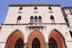 Traditional Croatian building in Split Stock Photo