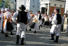 Traditional Croatian dance Stock Photos