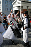 Traditional Croatian dance Stock Image