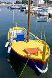 Traditional croatian fishing boat. In preko on the island of ugljan in croatia Stock Image