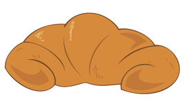 Traditional croissant. Stock Images