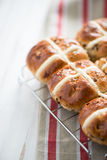 Traditional cross buns Stock Photo