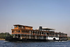 Traditional cruise on Nile river Royalty Free Stock Image