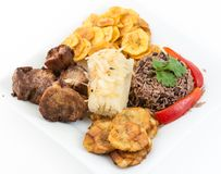 Traditional Cuban Cuisine Stock Images