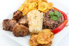Traditional Cuban Cuisine Royalty Free Stock Photos