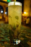 Traditional Cuban Mojito Royalty Free Stock Image