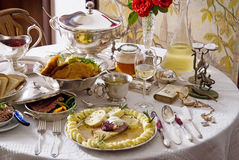 Traditional Czech cuisine Stock Photography