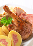 Traditional Czech dish Royalty Free Stock Images