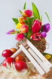 Traditional Czech easter decoration Stock Images