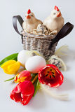 Traditional Czech easter decoration Royalty Free Stock Photos