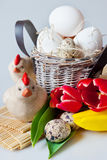 Traditional Czech easter decoration Royalty Free Stock Images