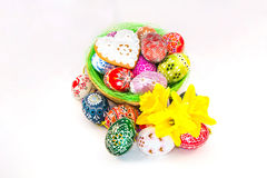 Traditional czech Easter decorations Stock Photos