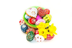 Traditional czech Easter decorations Royalty Free Stock Photo