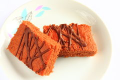 Traditional Czech sweet cake Stock Photos