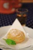 Traditional czech vanilla dessert Royalty Free Stock Image