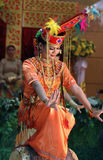 Traditional dance Stock Image