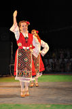 Traditional dance - Bulgaria Royalty Free Stock Image