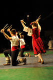 Traditional dance - Bulgaria Royalty Free Stock Images