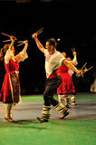Traditional dance - Bulgaria Stock Photo