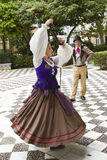 Traditional dance in Cadiz Royalty Free Stock Photos
