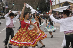 Traditional dance of Chile Stock Photo