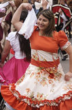 Traditional dance of Chile Royalty Free Stock Photography