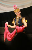 Traditional dance Royalty Free Stock Photo