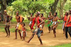Traditional dance in Madagascar, Africa Stock Image