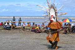 Traditional dance mask festival Papua New Guinea Royalty Free Stock Image