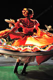 Traditional dance from Mexico Royalty Free Stock Photography