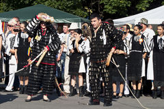 Traditional dancers Stock Image