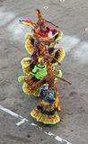Traditional dancers in Cartagena, Colombia Royalty Free Stock Photography