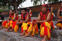 Traditional dancers Royalty Free Stock Images