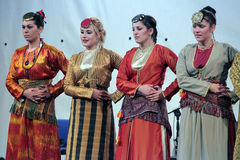 Traditional dances of Thrace Stock Images