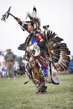 Traditional Dancing at Pow-wow Stock Image