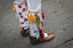 Traditional dancing shoes Stock Image