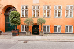 Traditional danish building Royalty Free Stock Photo