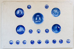 Traditional Danish ceramics Stock Image